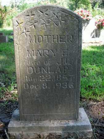 DUNLAP, MARY E. - Boone County, Arkansas | MARY E. DUNLAP - Arkansas Gravestone Photos