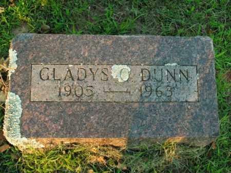 DUNN, GLADYS O. - Boone County, Arkansas | GLADYS O. DUNN - Arkansas Gravestone Photos