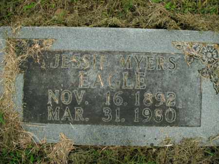 MYERS EAGLE, JESSIE - Boone County, Arkansas | JESSIE MYERS EAGLE - Arkansas Gravestone Photos