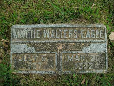 EAGLE, MATTIE - Boone County, Arkansas | MATTIE EAGLE - Arkansas Gravestone Photos