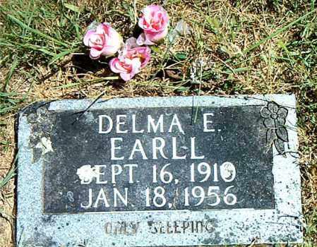 EARLL, DELMA  E. - Boone County, Arkansas   DELMA  E. EARLL - Arkansas Gravestone Photos