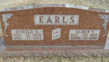EARLS, ELMER V. - Boone County, Arkansas | ELMER V. EARLS - Arkansas Gravestone Photos