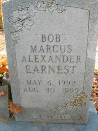 """EARNEST, MARCUS ALEXANDER """"BOB"""" - Boone County, Arkansas   MARCUS ALEXANDER """"BOB"""" EARNEST - Arkansas Gravestone Photos"""
