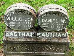 EASTHAM, WILLIE JOE - Boone County, Arkansas | WILLIE JOE EASTHAM - Arkansas Gravestone Photos