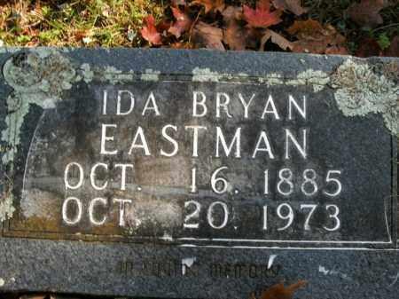 BRYAN EASTMAN, IDA - Boone County, Arkansas | IDA BRYAN EASTMAN - Arkansas Gravestone Photos