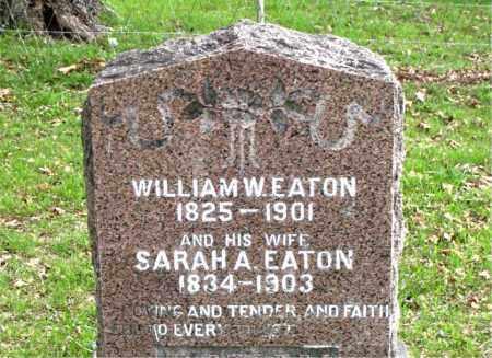 EATON, SARAH  A. - Boone County, Arkansas | SARAH  A. EATON - Arkansas Gravestone Photos