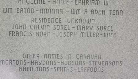 MILLER, JOSEPH'S WIFE - Boone County, Arkansas | JOSEPH'S WIFE MILLER - Arkansas Gravestone Photos