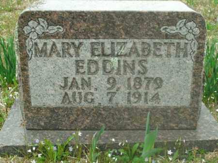 EDDINS, MARY ELIZABETH - Boone County, Arkansas | MARY ELIZABETH EDDINS - Arkansas Gravestone Photos