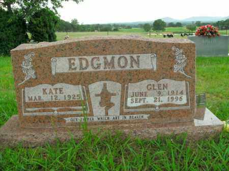 EDGMON, GLEN - Boone County, Arkansas | GLEN EDGMON - Arkansas Gravestone Photos