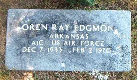 EDGMON  (VETERAN), OREN RAY - Boone County, Arkansas   OREN RAY EDGMON  (VETERAN) - Arkansas Gravestone Photos