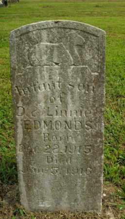 EDMONDS, INFANT SON - Boone County, Arkansas | INFANT SON EDMONDS - Arkansas Gravestone Photos