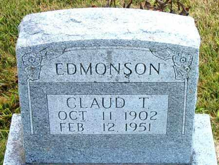 EDMONSON, CLAUD  T. - Boone County, Arkansas   CLAUD  T. EDMONSON - Arkansas Gravestone Photos