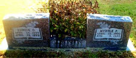 EDMONSON, EUNICE  O. - Boone County, Arkansas   EUNICE  O. EDMONSON - Arkansas Gravestone Photos