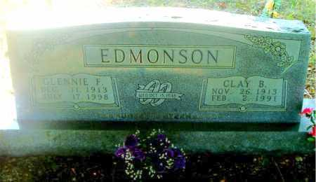 EDMONSON, GLENNIE  F. - Boone County, Arkansas | GLENNIE  F. EDMONSON - Arkansas Gravestone Photos