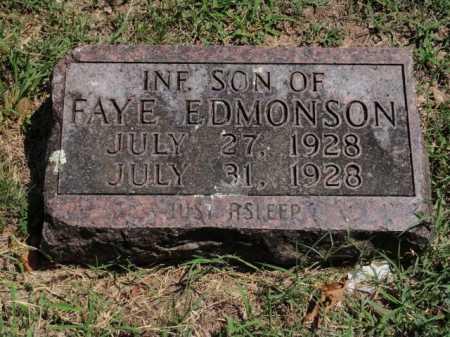 EDMONSON, INFANT SON - Boone County, Arkansas | INFANT SON EDMONSON - Arkansas Gravestone Photos
