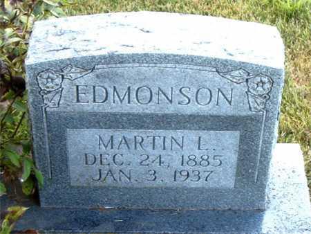 EDMONSON, MARTIN L - Boone County, Arkansas | MARTIN L EDMONSON - Arkansas Gravestone Photos