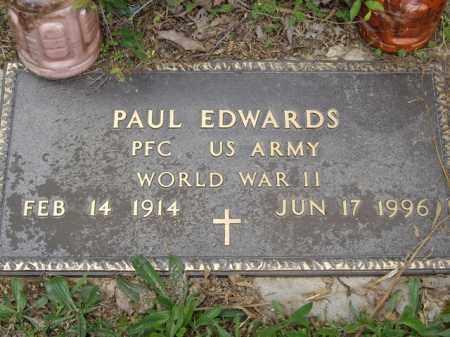 EDWARDS  (VETERAN WWII), PAUL - Boone County, Arkansas | PAUL EDWARDS  (VETERAN WWII) - Arkansas Gravestone Photos