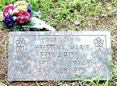 EDWARDS, CHRISTINA  MARIE - Boone County, Arkansas | CHRISTINA  MARIE EDWARDS - Arkansas Gravestone Photos