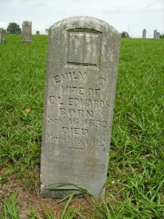 EDWARDS, EMILY C. - Boone County, Arkansas | EMILY C. EDWARDS - Arkansas Gravestone Photos