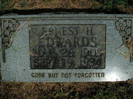 EDWARDS, ERNEST H. - Boone County, Arkansas | ERNEST H. EDWARDS - Arkansas Gravestone Photos