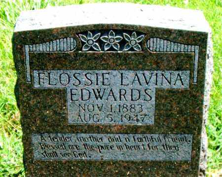 EDWARDS, FLOSSIE  LAVINA - Boone County, Arkansas | FLOSSIE  LAVINA EDWARDS - Arkansas Gravestone Photos