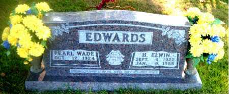EDWARDS, HARVEL ELWIN - Boone County, Arkansas | HARVEL ELWIN EDWARDS - Arkansas Gravestone Photos