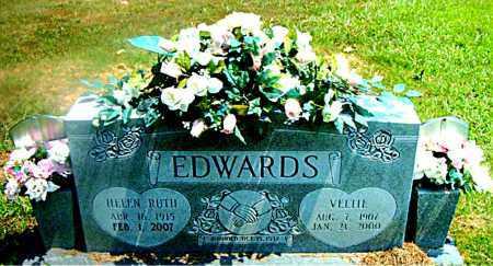 EDWARDS, VELTIE - Boone County, Arkansas | VELTIE EDWARDS - Arkansas Gravestone Photos