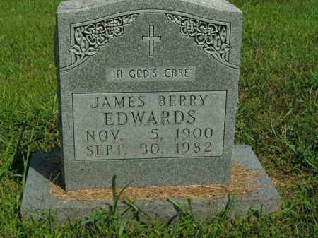EDWARDS, JAMES BERRY - Boone County, Arkansas | JAMES BERRY EDWARDS - Arkansas Gravestone Photos