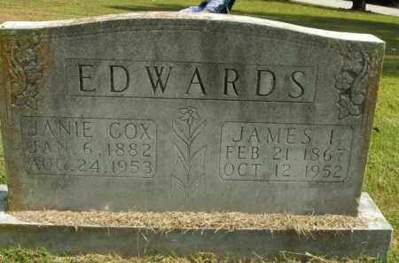 EDWARDS, JAMES I. - Boone County, Arkansas | JAMES I. EDWARDS - Arkansas Gravestone Photos