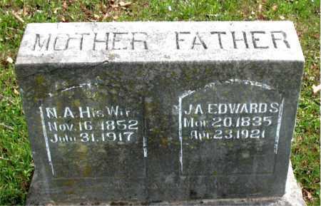 EDWARDS, NAN A. - Boone County, Arkansas   NAN A. EDWARDS - Arkansas Gravestone Photos