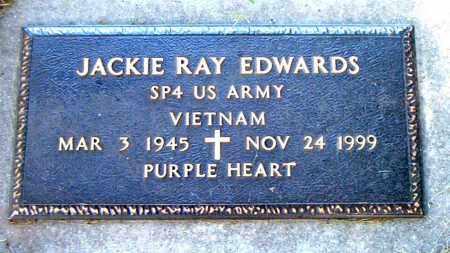 EDWARDS  (VETERAN VIET), JACKIE RAY - Boone County, Arkansas   JACKIE RAY EDWARDS  (VETERAN VIET) - Arkansas Gravestone Photos