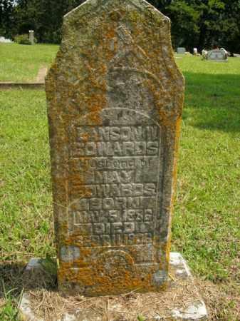 EDWARDS, LANSON W. - Boone County, Arkansas | LANSON W. EDWARDS - Arkansas Gravestone Photos