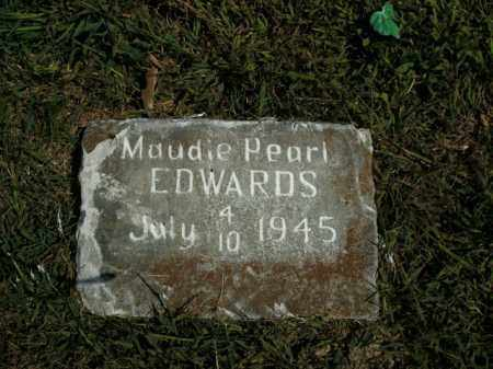 EDWARDS, MAUDIE PEARL - Boone County, Arkansas | MAUDIE PEARL EDWARDS - Arkansas Gravestone Photos