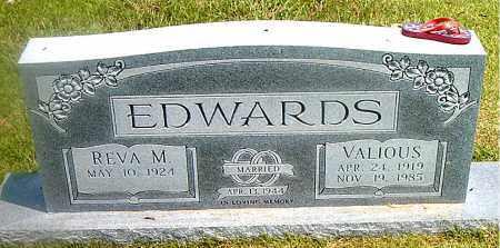 EDWARDS, VALIOUS L. - Boone County, Arkansas | VALIOUS L. EDWARDS - Arkansas Gravestone Photos