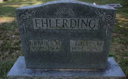 EHLERDING, GRACE M. - Boone County, Arkansas   GRACE M. EHLERDING - Arkansas Gravestone Photos