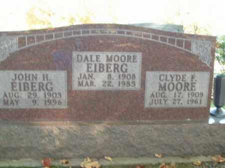 EIBERG, DALE MOORE - Boone County, Arkansas | DALE MOORE EIBERG - Arkansas Gravestone Photos