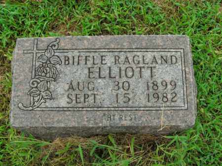 ELLIOTT, BIFFLE RAGLAND - Boone County, Arkansas | BIFFLE RAGLAND ELLIOTT - Arkansas Gravestone Photos