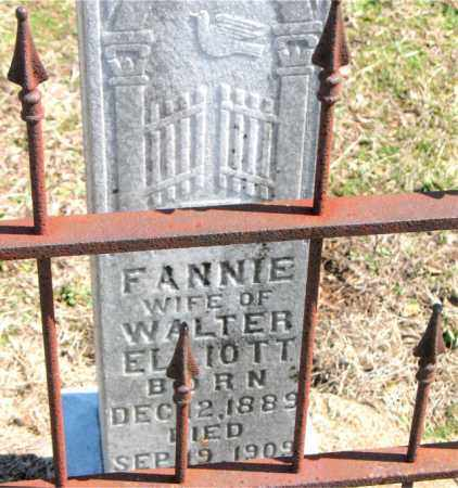 ELLIOTT, FANNIE - Boone County, Arkansas | FANNIE ELLIOTT - Arkansas Gravestone Photos