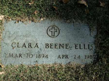 BEENE ELLIS, CLARA - Boone County, Arkansas   CLARA BEENE ELLIS - Arkansas Gravestone Photos