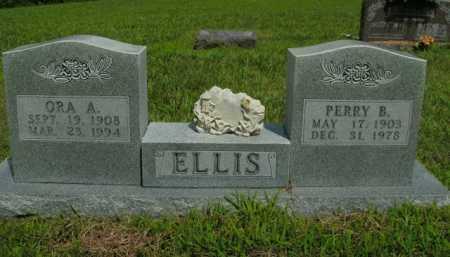 SCOTT ELLIS, ORA A. - Boone County, Arkansas | ORA A. SCOTT ELLIS - Arkansas Gravestone Photos