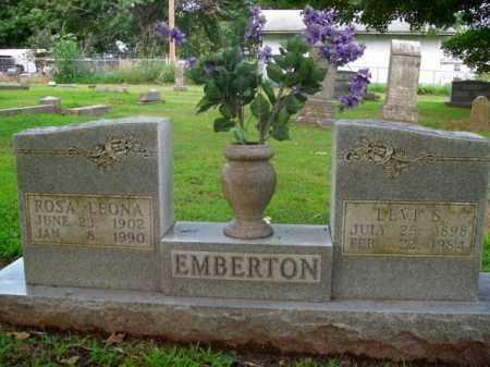 EMBERTON, ROSA LEONA - Boone County, Arkansas   ROSA LEONA EMBERTON - Arkansas Gravestone Photos