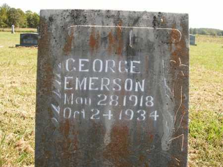 EMERSON, GEORGE - Boone County, Arkansas | GEORGE EMERSON - Arkansas Gravestone Photos
