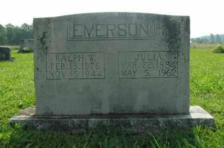 EMERSON, RALPH W. - Boone County, Arkansas | RALPH W. EMERSON - Arkansas Gravestone Photos