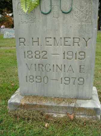 EMERY, VIRGINIA E. - Boone County, Arkansas | VIRGINIA E. EMERY - Arkansas Gravestone Photos