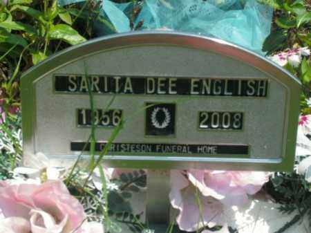 ENGLISH, SARITA DEE - Boone County, Arkansas | SARITA DEE ENGLISH - Arkansas Gravestone Photos