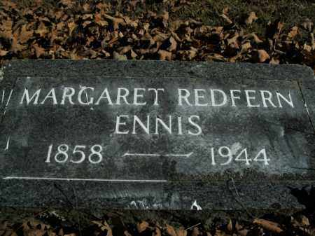 REDFERN ENNIS, MARGARET - Boone County, Arkansas   MARGARET REDFERN ENNIS - Arkansas Gravestone Photos