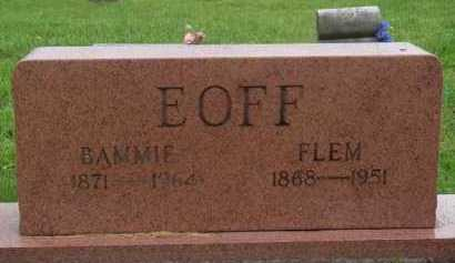 EOFF, FLEM - Boone County, Arkansas | FLEM EOFF - Arkansas Gravestone Photos