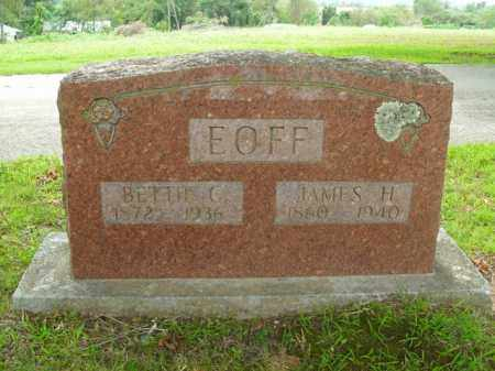 EOFF, BETTIE CAROLINE - Boone County, Arkansas | BETTIE CAROLINE EOFF - Arkansas Gravestone Photos