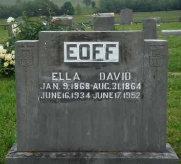 EOFF, ELLA - Boone County, Arkansas | ELLA EOFF - Arkansas Gravestone Photos
