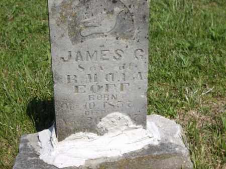 EOFF, JAMES G. - Boone County, Arkansas   JAMES G. EOFF - Arkansas Gravestone Photos
